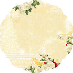 Websters Pages - A Botanical Christmas Collection - 12 x 12 Die Cut Paper - A Botanical Christmas