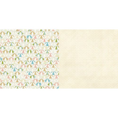 Websters Pages - The Palm Beach Collection - 12 x 12 Double Sided Paper - Sunblock
