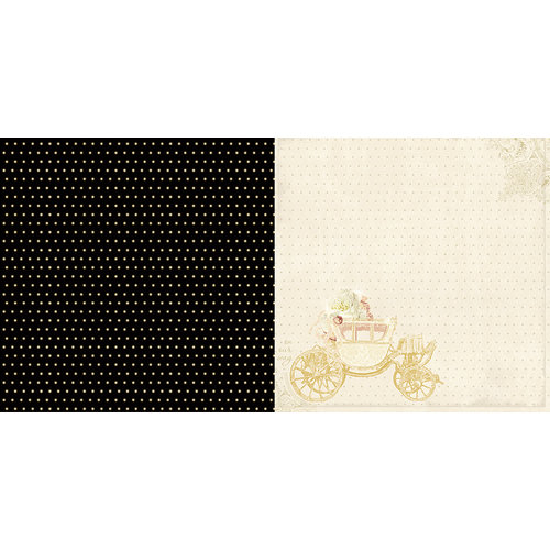 Websters Pages - In Love Collection - 12 x 12 Double Sided Paper - Arrive in Style