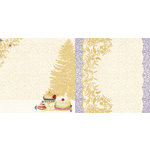 Websters Pages - Royal Christmas Collection - 12 x 12 Double Sided Paper - Delights