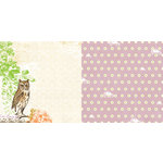 Websters Pages - Once Upon a Halloween Collection - 12 x 12 Double Sided Paper - Watching You