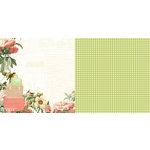 Websters Pages - Park Drive Collection - 12 x 12 Double Sided Paper - Box Lunch