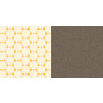 Websters Pages - Park Drive Collection - 12 x 12 Double Sided Paper - Sunshine