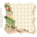 Websters Pages - Park Drive Collection - 12 x 12 Die Cut Paper - Park Drive
