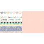 Websters Pages - Best Friends Collection - 12 x 12 Double Sided Paper - Soulmates