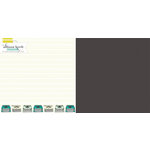 Websters Pages - Composition and Color Collection - 12 x 12 Double Sided Paper - True Story