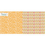 Websters Pages - Sweet Notes Collection - 12 x 12 Double Sided Paper - Creamsicles