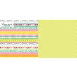 Websters Pages - Sweet Notes Collection - 12 x 12 Double Sided Paper - Sweets and Treats