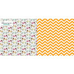 Websters Pages - Sweet Notes Collection - 12 x 12 Double Sided Paper - Special Delivery