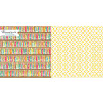 Websters Pages - Sweet Notes Collection - 12 x 12 Double Sided Paper - Secret Recipe