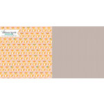 Websters Pages - Hello World Collection - 12 x 12 Double Sided Paper - Pretty Girl