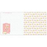 Websters Pages - Growing Up Girl Collection - 12 x 12 Double Sided Paper - Travel with Style
