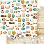 Websters Pages - Nest Collection - 12 x 12 Double Sided Paper - Begin Anew