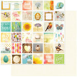 Websters Pages - Nest Collection - 12 x 12 Double Sided Paper - Special Places