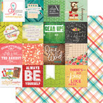 Websters Pages - Hall Pass Collection - 12 x 12 Double Sided Paper - Making the Grade