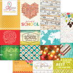 Websters Pages - Hall Pass Collection - 12 x 12 Double Sided Paper - Storyteller Card Sheet I