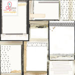 Websters Pages - Hall Pass Collection - 12 x 12 Vellum - Vintage Frames