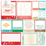 Websters Pages - Hall Pass Collection - 12 x 12 Vellum