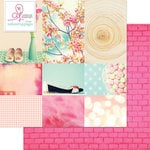 Websters Pages - Beautiful Chic Collection - 12 x 12 Double Sided Paper - Stepping Out