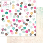 Websters Pages - Beautiful Chic Collection - 12 x 12 Double Sided Paper - Swatches