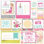 Websters Pages - Beautiful Chic Collection - 12 x 12 Vellum - I