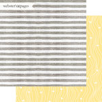 Websters Pages - Dream in Color Collection - 12 x 12 Double Sided Paper - Snuggle