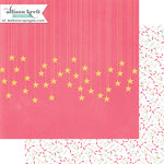 Websters Pages - Happy Collection - 12 x 12 Double Sided Paper - Sprinkles