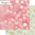 Websters Pages - Happy Collection - 12 x 12 Double Sided Paper - Dancing