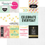 Websters Pages - Happy Collection - 12 x 12 Double Sided Paper - Storyteller Card Sheet I