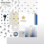 Websters Pages - These Are The Days Collection - 12 x 12 Double Sided Paper - July