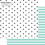 Websters Pages - These Are The Days Collection - 12 x 12 Double Sided Paper - Essential - Arrows