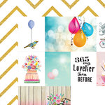 Websters Pages - Make a Wish Collection - 12 x 12 Double Sided Paper - 365 Days