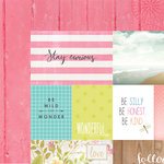Websters Pages - Painted Passport Collection - 12 x 12 Double Sided Paper - Stay Curious