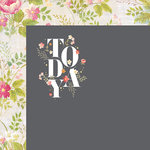 Websters Pages - Painted Passport Collection - 12 x 12 Double Sided Paper - Today