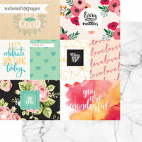 Websters Pages - A New Day Collection - 12 x 12 Double Sided Paper - See the Good