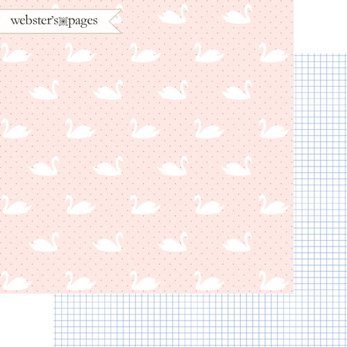Websters Pages - Love Story Collection - 12 x 12 Double Sided Paper - Better Together