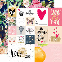 Websters Pages - Love is in the Air Collection - 12 x 12 Double Sided Paper - You and Me