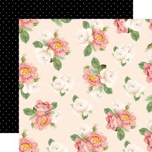 Websters Pages - Love is in the Air Collection - 12 x 12 Double Sided Paper - Sweet Fragrance
