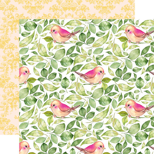 Websters Pages - Changing Colors Collection - 12 x 12 Double Sided Paper - Falling Leaves