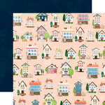 Websters Pages - Changing Colors Collection - 12 x 12 Double Sided Paper - Home Sweet Home