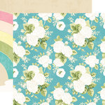 Websters Pages - Changing Colors Collection - 12 x 12 Double Sided Paper - Over the Rainbow