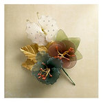 Websters Pages - WonderFall Collection - Vintage Wire Floral Bouquet
