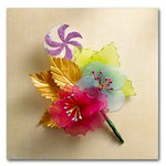 Websters Pages - Sweet Season Collection - Vintage Wire Floral Bouquet