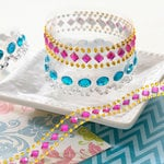 Websters Pages - The Palm Beach Collection - Self Adhesive Dazzle-Me Gems