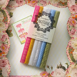 Websters Pages - Designer Trim and Ribbons - Vintage Inspired Netting - Mini Assortment 3