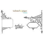 Websters Pages - Unity Stamp - Unmounted Rubber Stamp Set - Today's Special