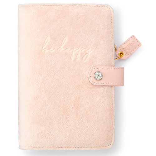 Websters Pages - Color Crush Collection - Personal Planner - Be Happy - Binder Only