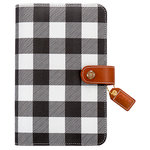 Websters Pages - Color Crush Collection - Personal Planner Binder - Buffalo Plaid - Binder Only