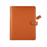 Websters Pages - Color Crush Collection - Personal Planner Binder - Camel