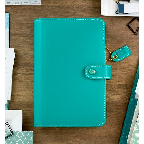 Websters Pages - Color Crush Collection - Personal Planner Binder - Jade